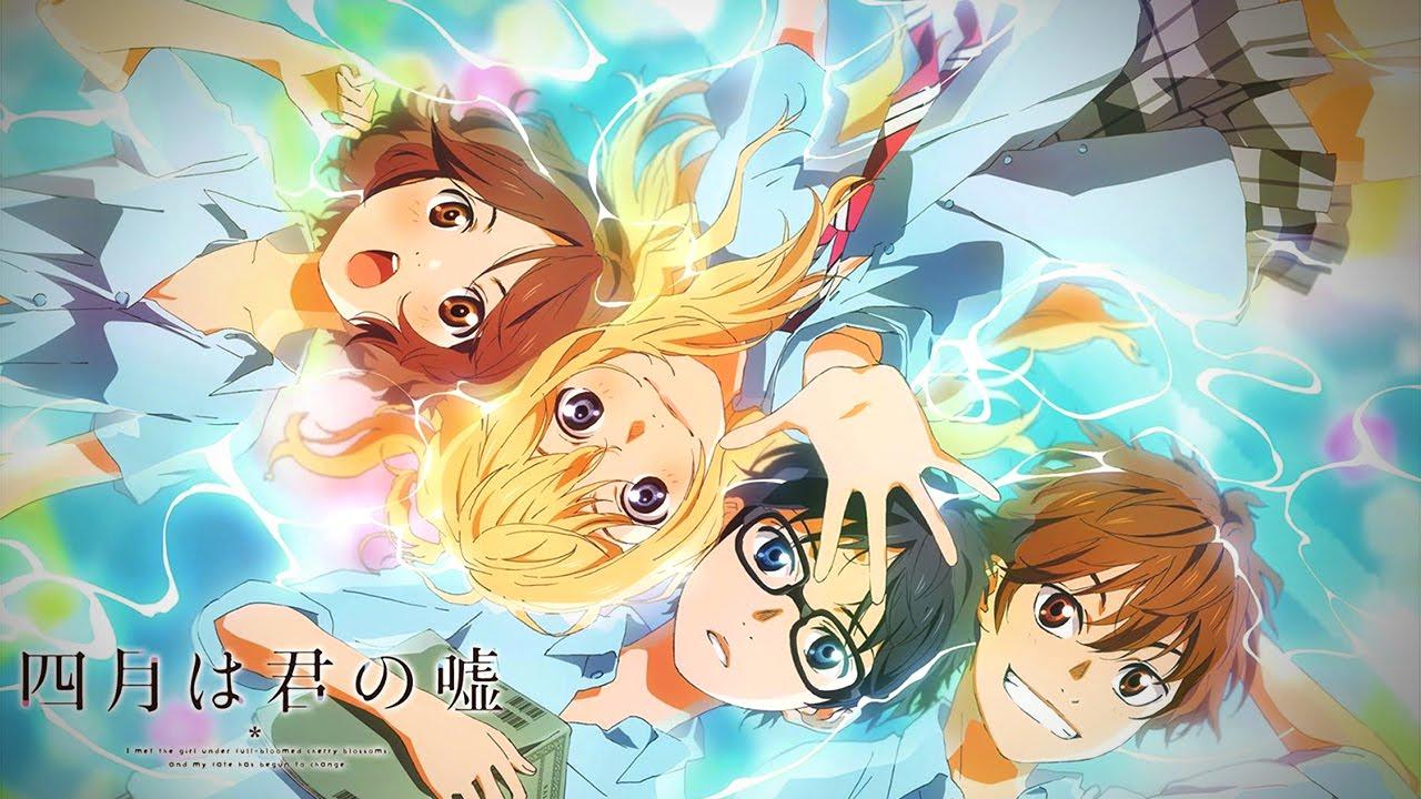 Your Lie in April live action Top 10 cái kết giằng xé và đau lòng nhất trong anime