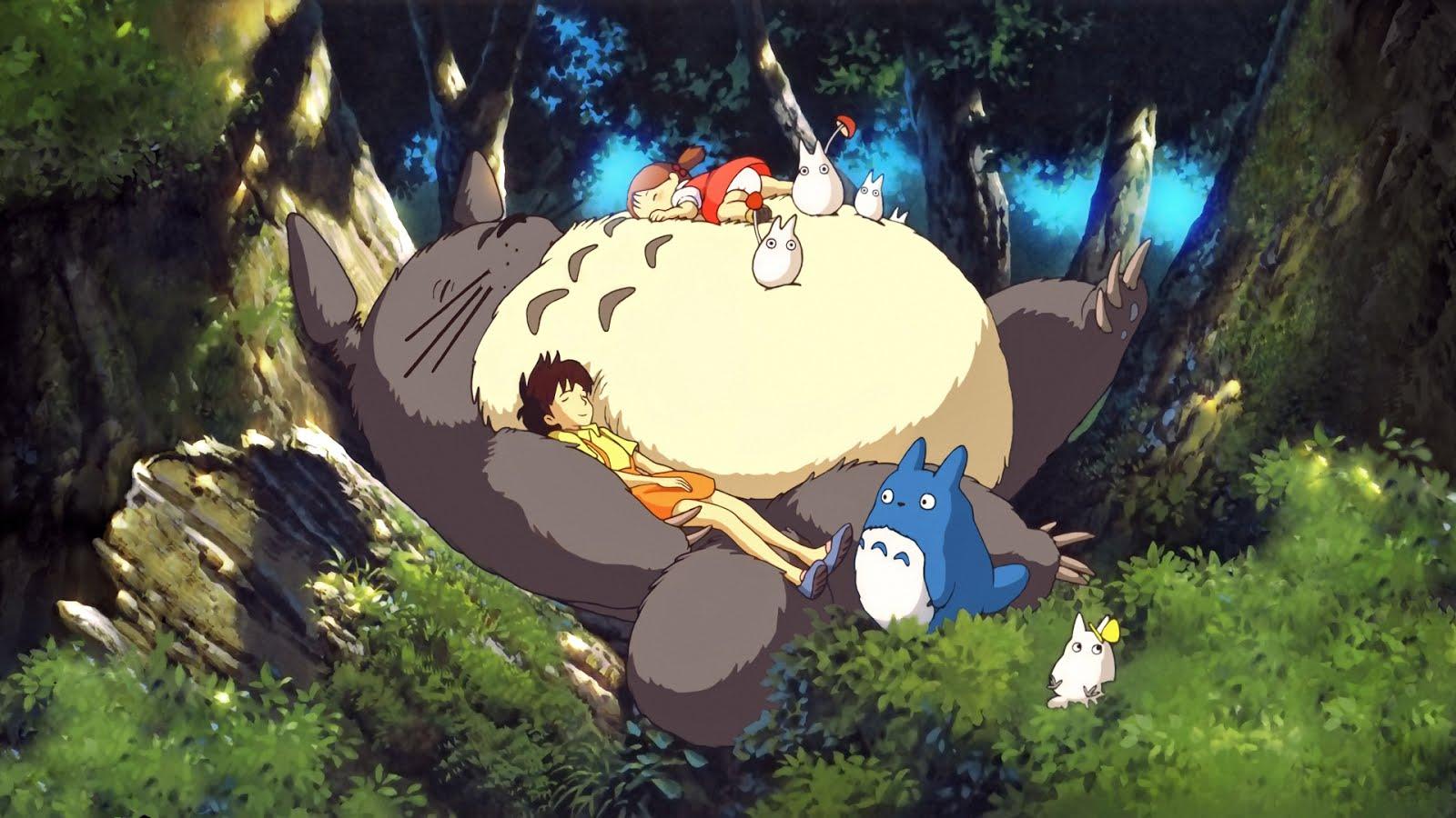 vicino totoro Đạo diễn Hayao Miyazaki kể lại sự thật đáng sợ về Totoro