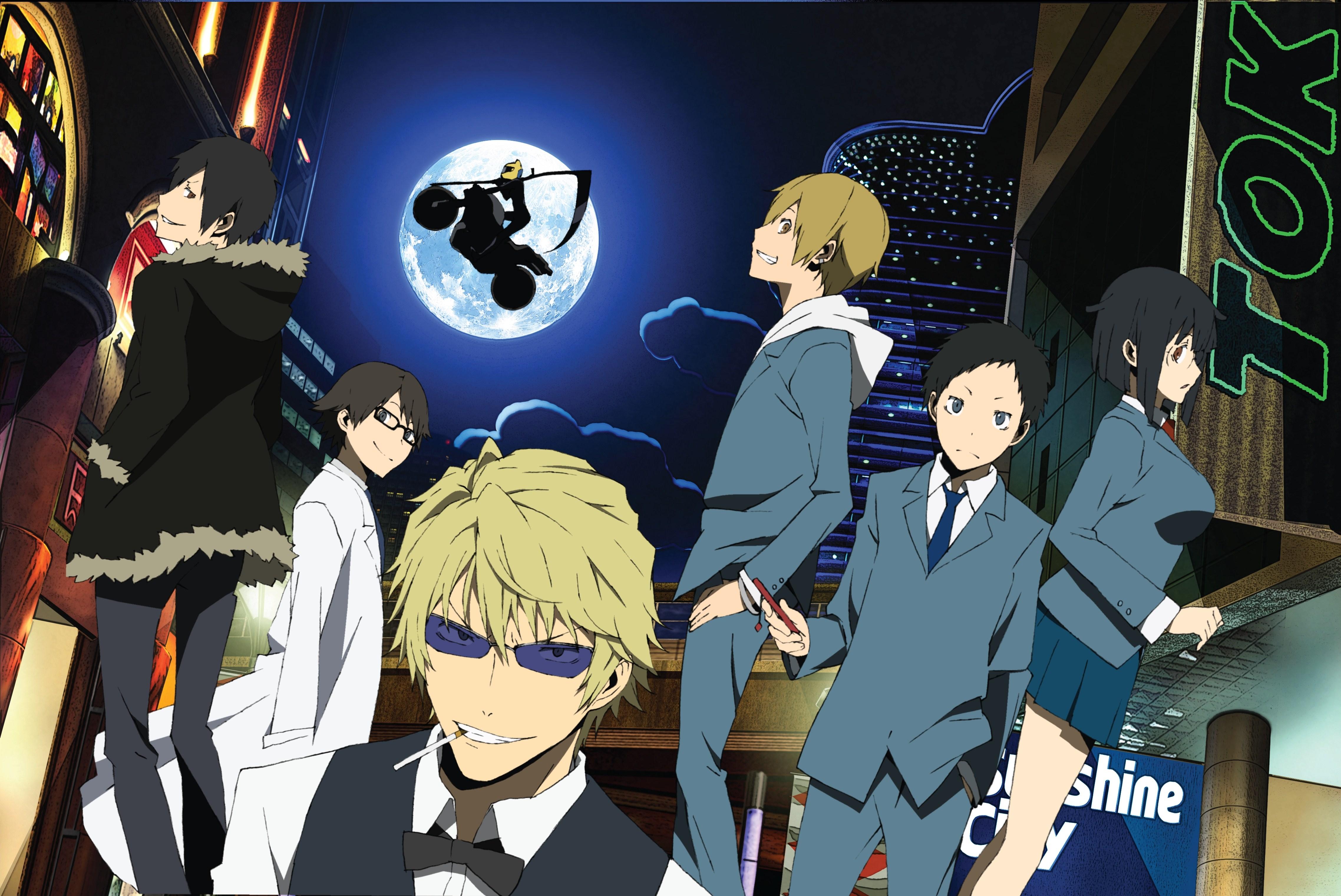 Kết quả hình ảnh cho Durarara!! anime