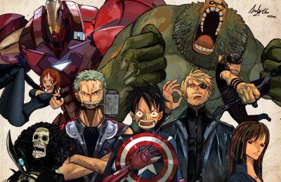 One Piece gặp Avengers trong Adrenaline Filled Fan Project