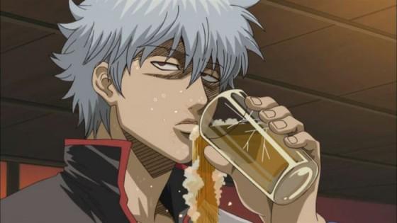 Capture Gintama Beer 560x315 Xin thông báo đến các bạn lần n+1, chương cuối cùng của Gintama sẽ được đăng vào ngày 17 tháng 6