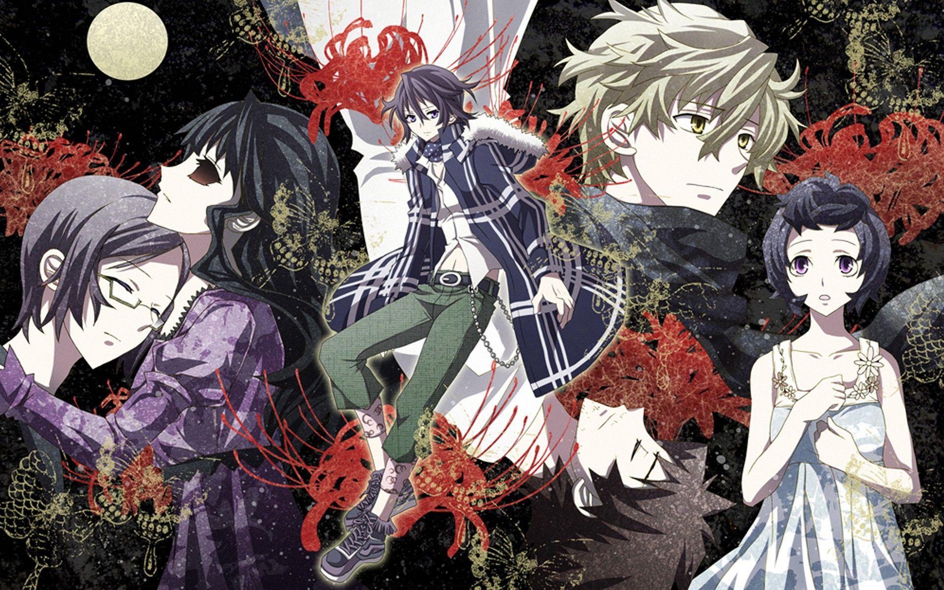 Kết quả hình ảnh cho Shiki anime