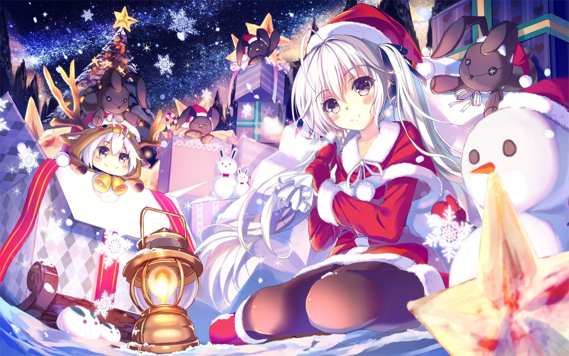 Thẻ: ảnh anime đẹp vào giáng sinh. [ Fanart Anime ] Christmas