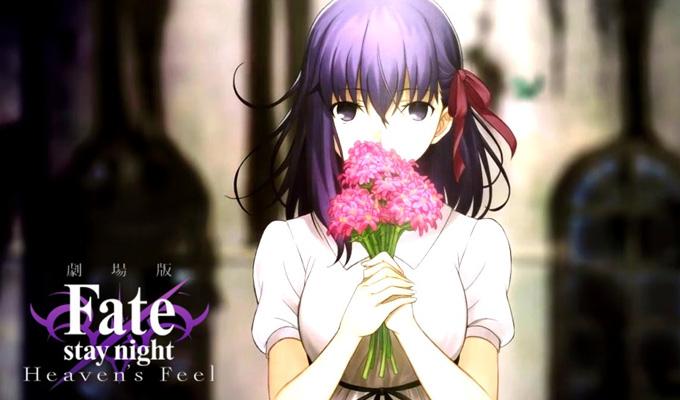 fate 2017 TOP 10 Anime movie gây kinh ngạc nhất năm 2017