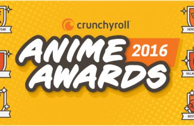 Và đây là kết quả Anime Awards 2016 của Crunchyroll, ai sẽ thắng cuộc?