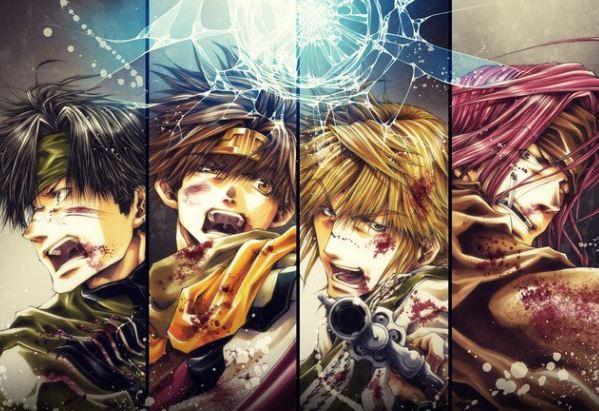 Saiyuki Reload Blast Cùng xem Top 20 bộ Anime mùa hè 2017 được Fan tiếp tục theo dõi sau những tuần đầu phát sóng