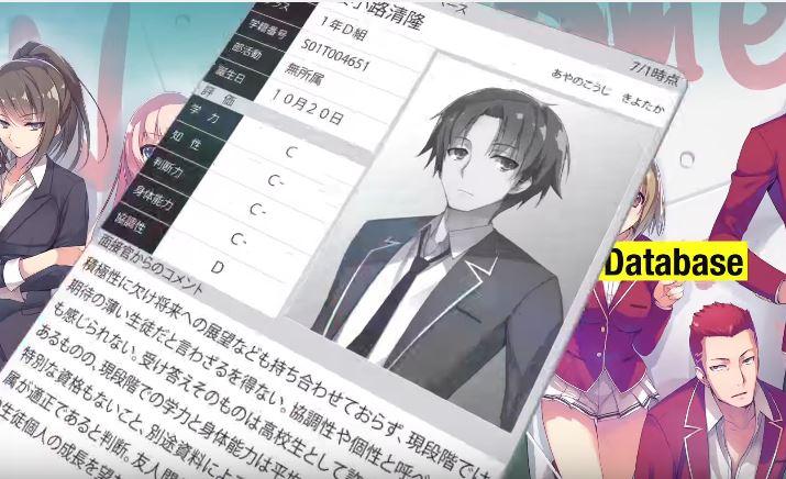 Yōkoso Jitsuryoku Shijō Shugi no Kyōshitsu e visual Cùng xem Top 20 bộ Anime mùa hè 2017 được Fan tiếp tục theo dõi sau những tuần đầu phát sóng