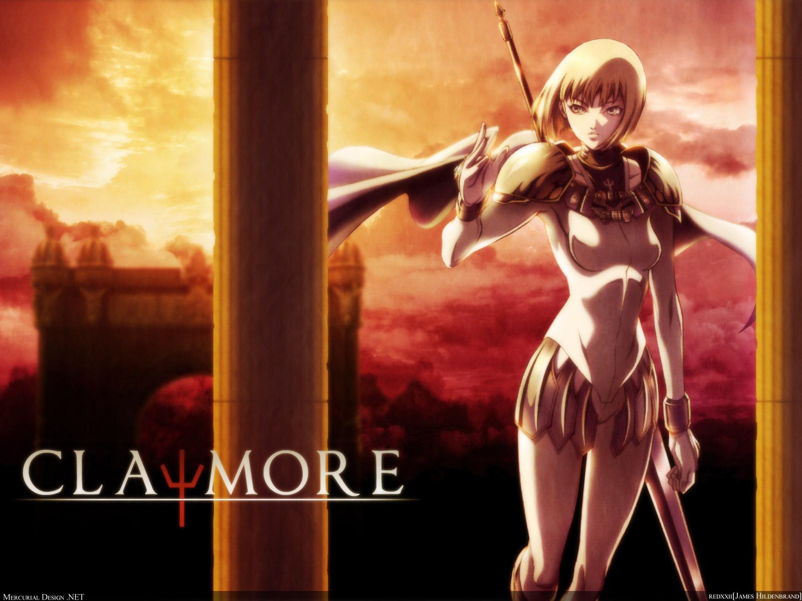 claymore TOP 10 Anime viễn tưởng kinh dị không dành cho người yếu tim