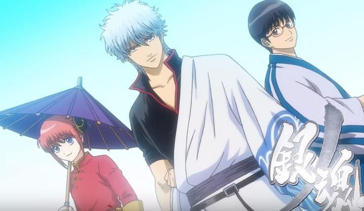 gintama silver soul arc TOP 20 bộ anime mùa đông 2018 được khán giả tiếp tục theo dõi
