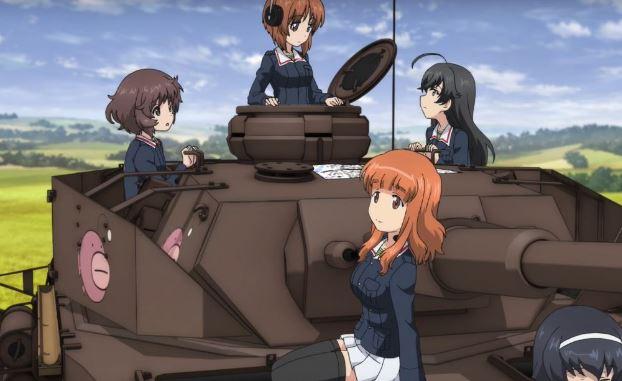Girls und Panzer das Finale TOP 10 Anime movie gây kinh ngạc nhất năm 2017