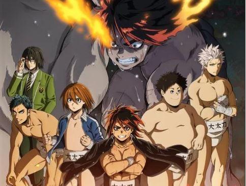 Hinomaru Zumou anime Top 10 Anime mùa đông 2019 người hâm mộ quốc tế chấm điểm cao nhất