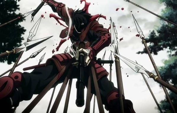 Drifters tap 15 TOP 10 Anime viễn tưởng kinh dị không dành cho người yếu tim