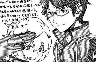 Manga World Trigger quay trở lại sau gần 2 năm tạm ngưng