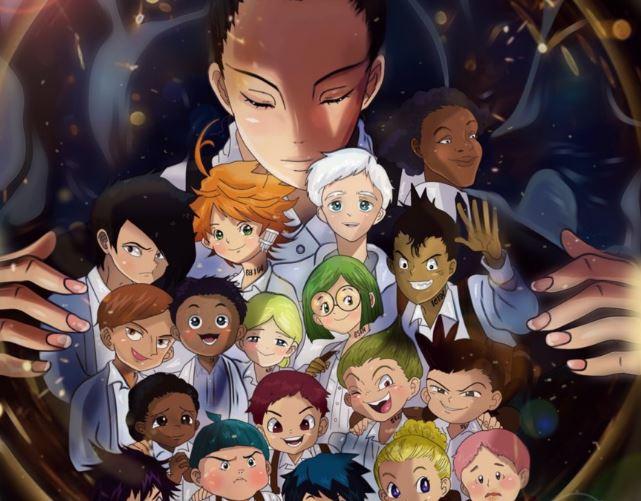 anime The Promised Neverland Top 20 anime mùa đông 2019 được khán giả mong đợi nhất