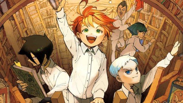 anime The Promised Neverland Top 10 bộ anime mùa đông 2019 khán giả Nhật muốn tiếp tục theo dõi nhất