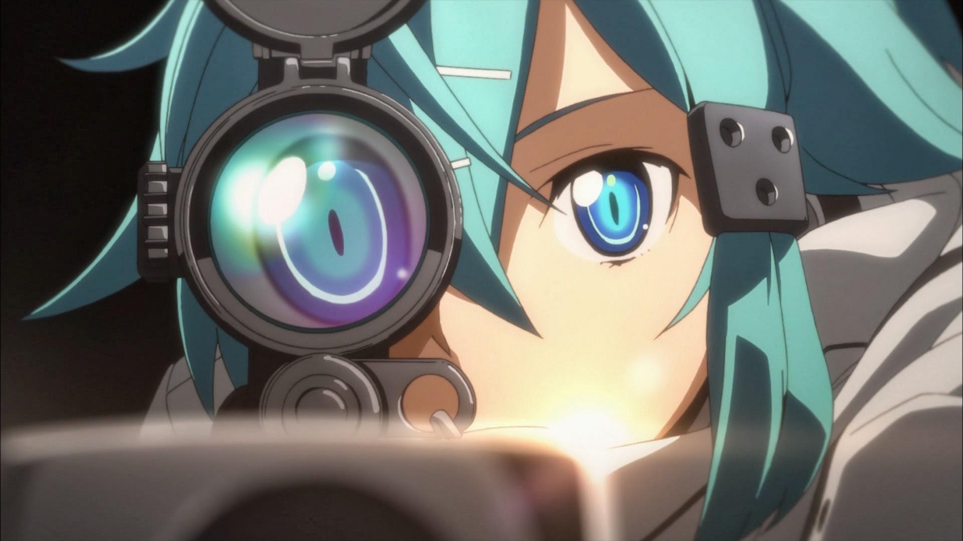 15 cô nàng xạ thủ đỉnh nhất thế giới anime
