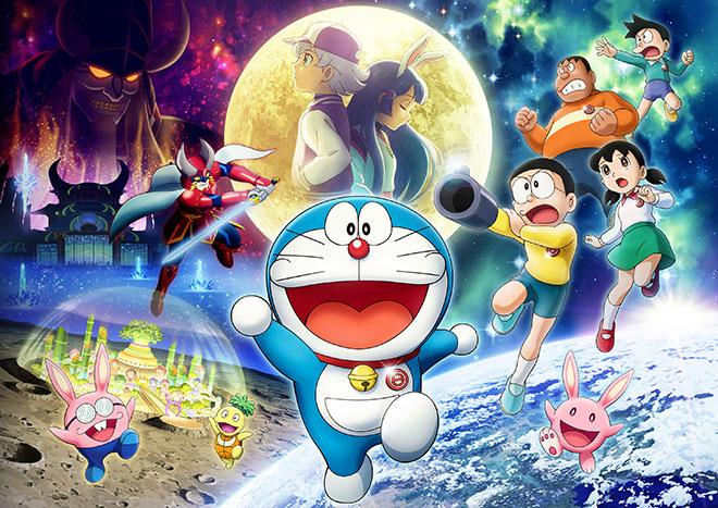 anime movie doraemon 2019 dung dau bang xep hang phim an khach nhat sau tuan dau cong chieu Do căng thẳng chính trị, Doraemon: Nobita và Mặt Trăng phiêu lưu ký bị hoãn chiếu vô thời hạn ở Hàn