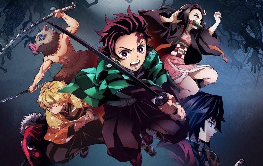 anime kimetsu no yaiba se chi co 26 tap ma thoi Cái bộ mà khán giả Việt Nam chê nhạt lại đứng đầu TOP 10 anime mùa xuân 2019 được theo dõi nhiều nhất ở Nhật