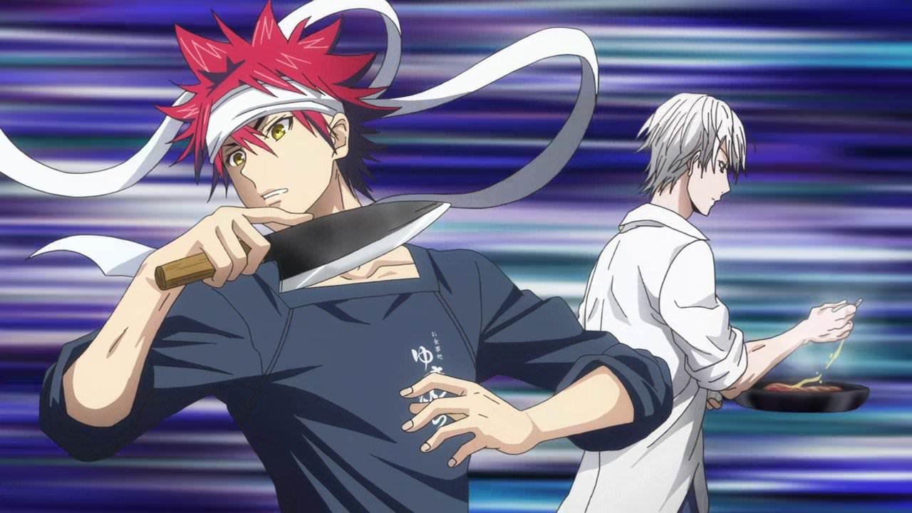 Shokugeki no Souma Top 20 Anime/Manga về ẩm thức phổ biến nhất hiện nay