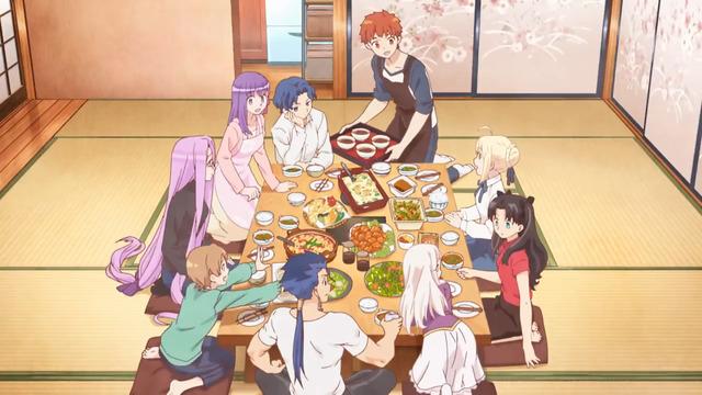 Today's Menu for the Emiya Family Top 20 Anime/Manga về ẩm thức phổ biến nhất hiện nay