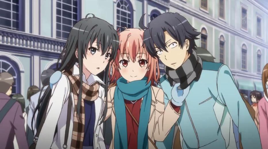 Yahari Ore no Seishun Love Comedy wa Machigatteiru Top 10 bộ anime có cái tên dài ngoằng được yêu thích nhất