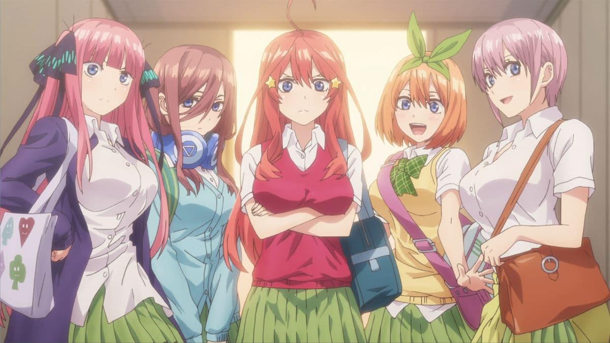 Anime Gotoubun no Hanayome sẽ có season 2