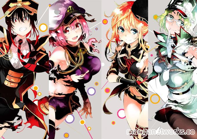 ikusa x koi bo truyen ve da Ikusa x Koi   Bộ truyện về đại chiến dàn Harem gồm 9 cô nàng sẽ có anime