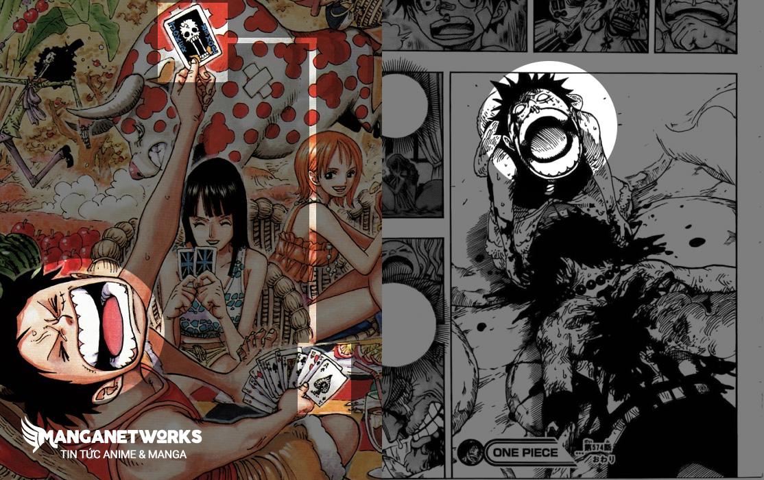 luffy du doan cai chet cua ace Giả thiết rợn người cho thấy Oda đã cho người hâm mộ biết trước cái chết của Ace?!