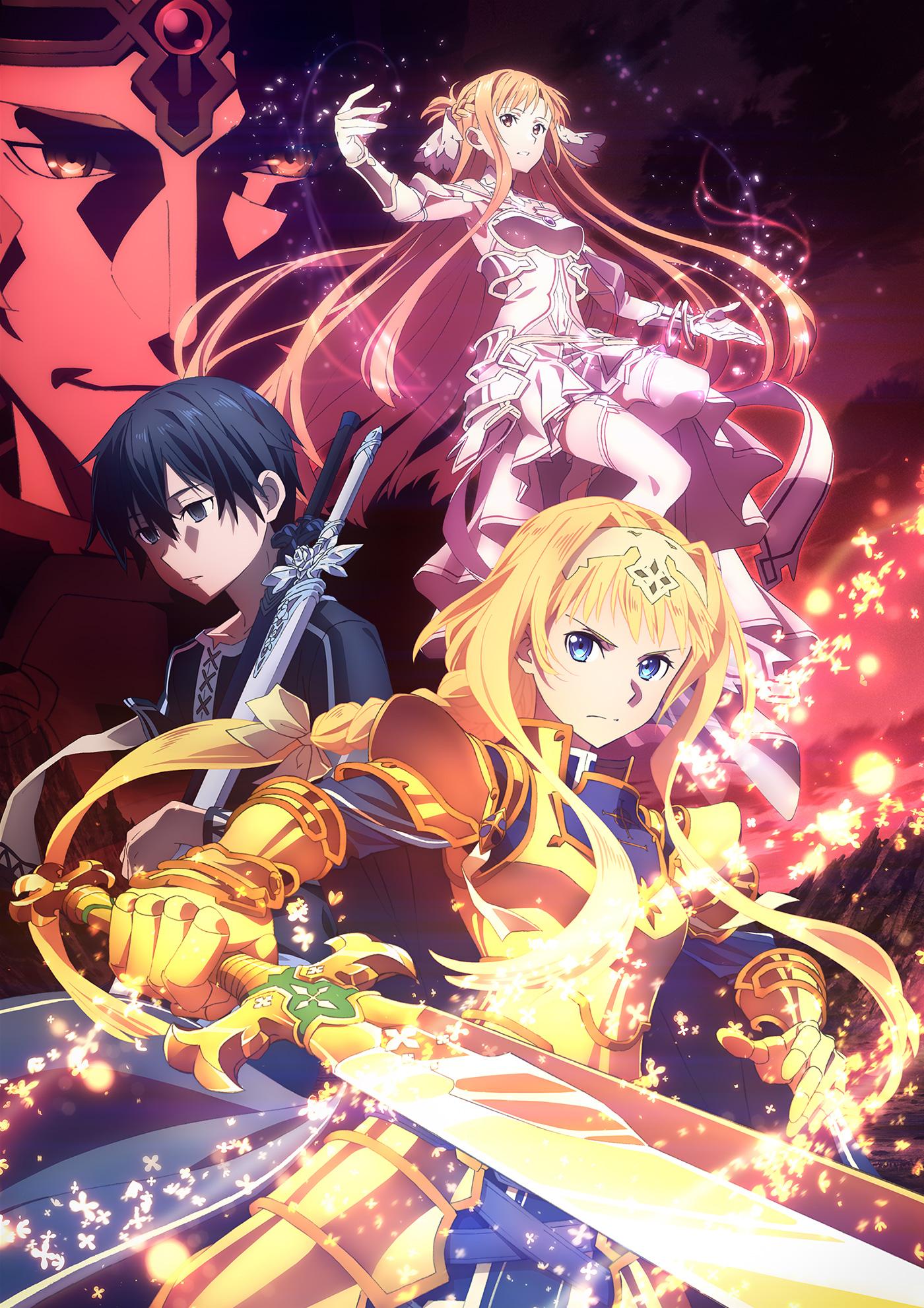Sword Art Online Alicization War of Underworld visual Siêu phẩm Sword Art Online: Alicization   War of Underworld chính thức quay trở lại vào ngày 12 tháng 10