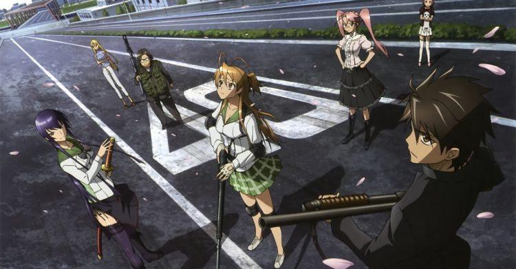 Highschool of the Dead season 2 Anime Highschool of the Dead season 2   Sự chờ đọi mòn mỏi suốt 8 năm...!