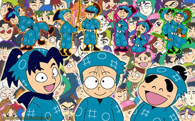 Ninja loan thi Bộ truyện tranh Ninja Loạn Thị kết thúc sau 33 năm phát hành