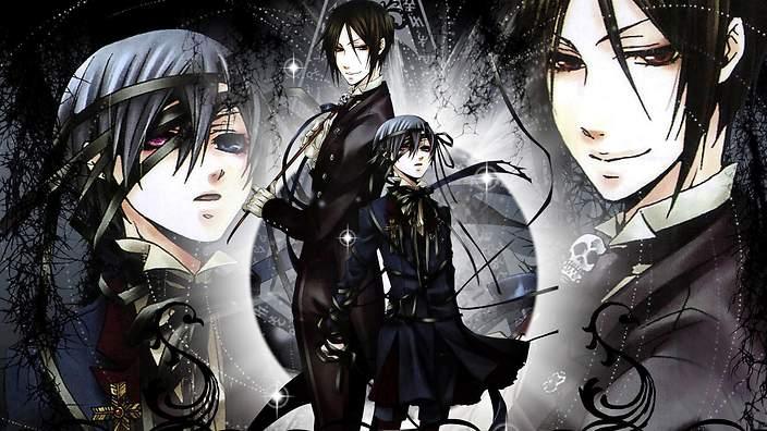 Black Butler TOP 10 Anime viễn tưởng kinh dị không dành cho người yếu tim