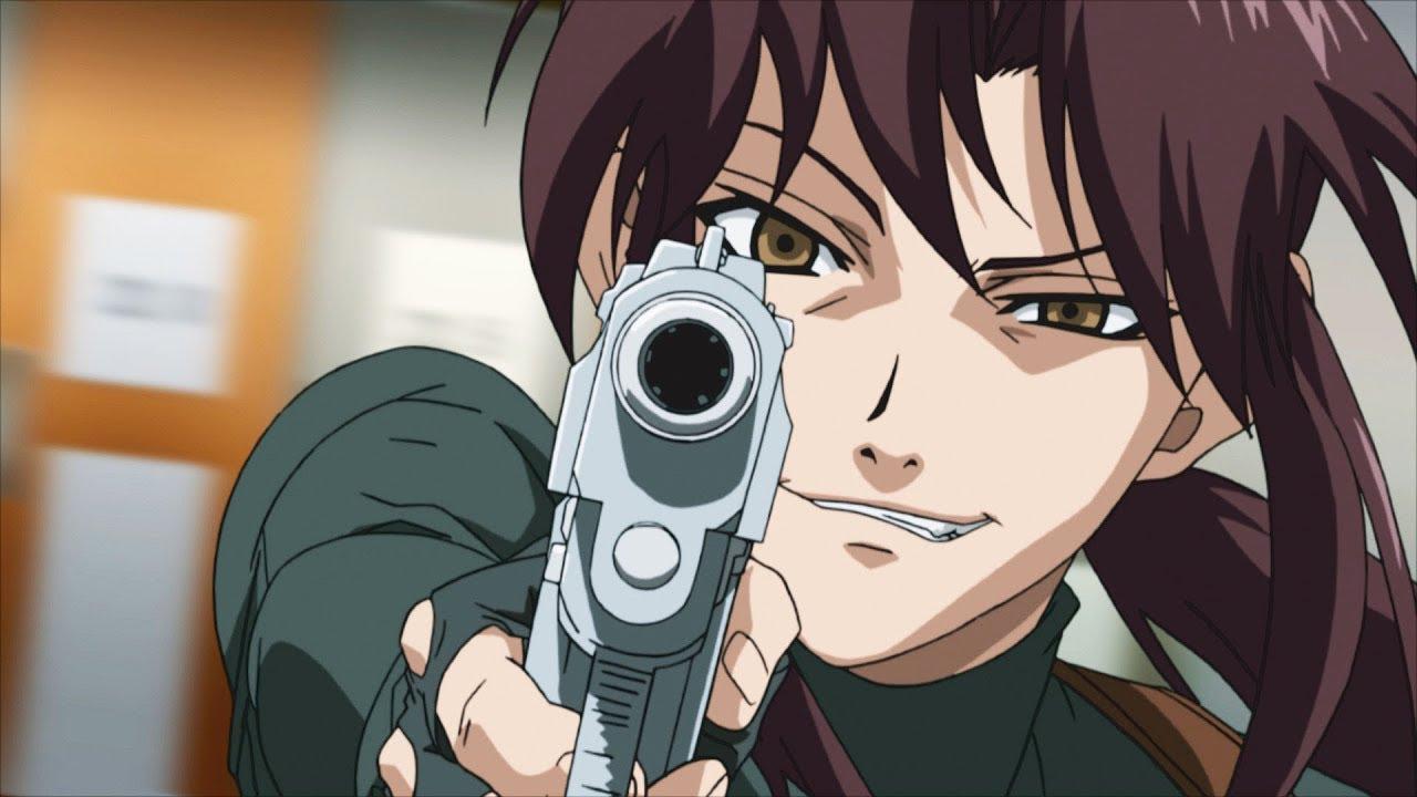 Black Lagoon TOP 10 Anime viễn tưởng kinh dị không dành cho người yếu tim