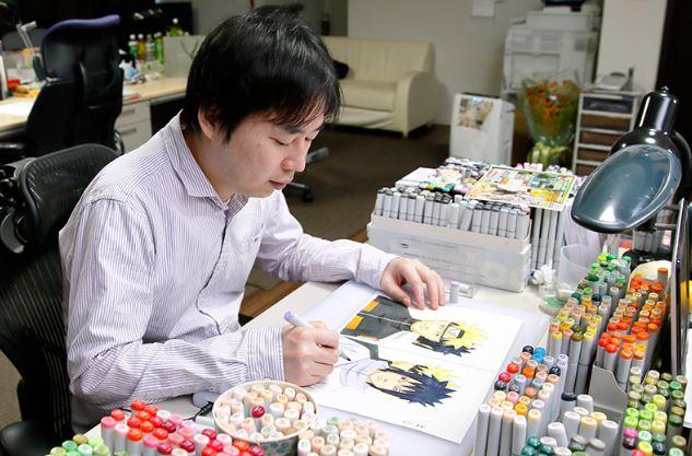 Kishimoto Masashi Top 10 họa sĩ truyện tranh được yêu thích nhất năm 2019: Hideaki Sorachi 5 năm liên tiếp giành #1