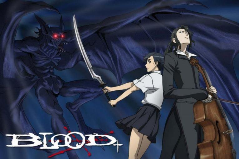 blood TOP 10 Anime viễn tưởng kinh dị không dành cho người yếu tim