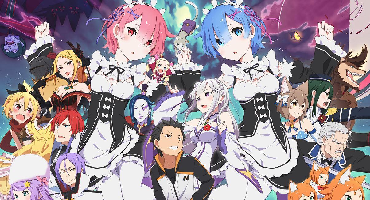 anime rezero season 2 he lo thong tin ca khuc chu de Anime Re:ZERO season 2 hé lộ thông tin ca khúc chủ đề