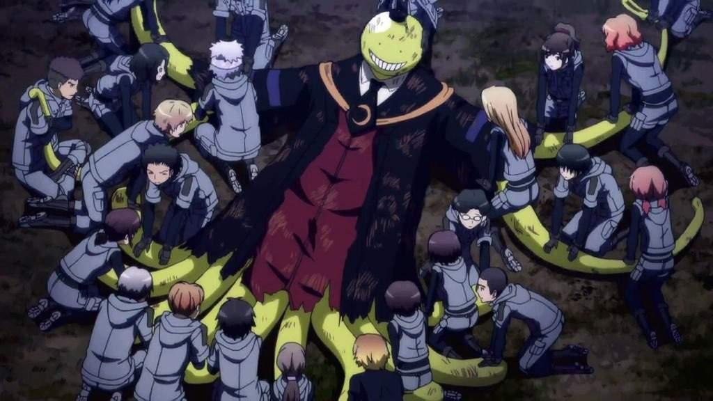 Assassination Classroom Top 10 cái kết giằng xé và đau lòng nhất trong anime